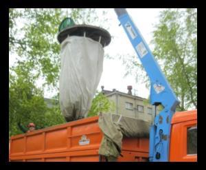 Заглубленные мешки под мусор в Ачинске